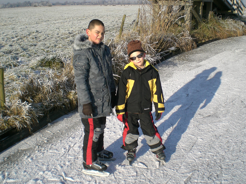 Skaatsen in Giethoorn   2009
